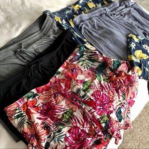 Gilligan & O'Malley sleep bottoms (5) shorts capri